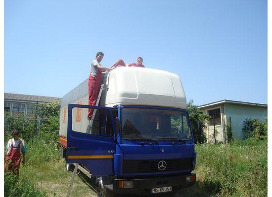 reparatii camioane, reparatii parbrize